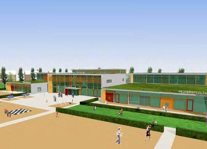 Nieuwbouw Brede School Ursem