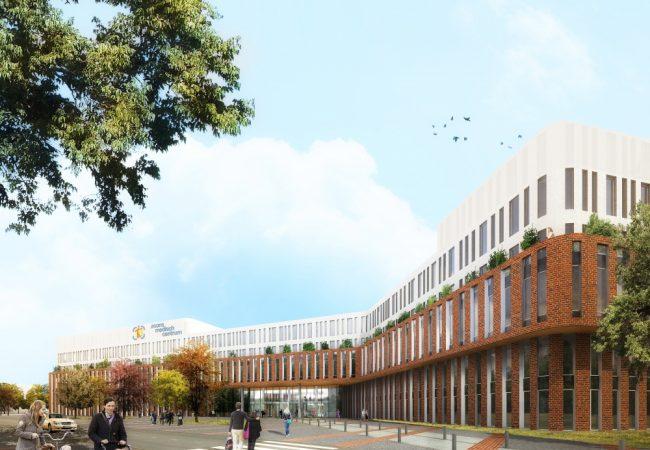 Nieuwbouw Zaans Medisch Centrum – Entree