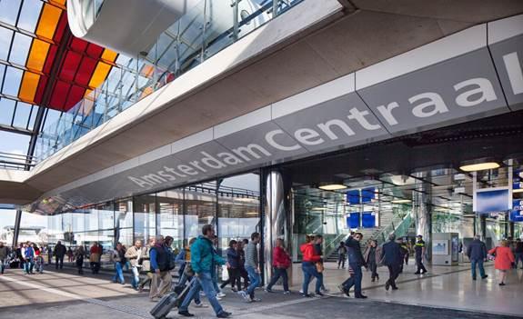 Afbouw Centraal Station Fase 2