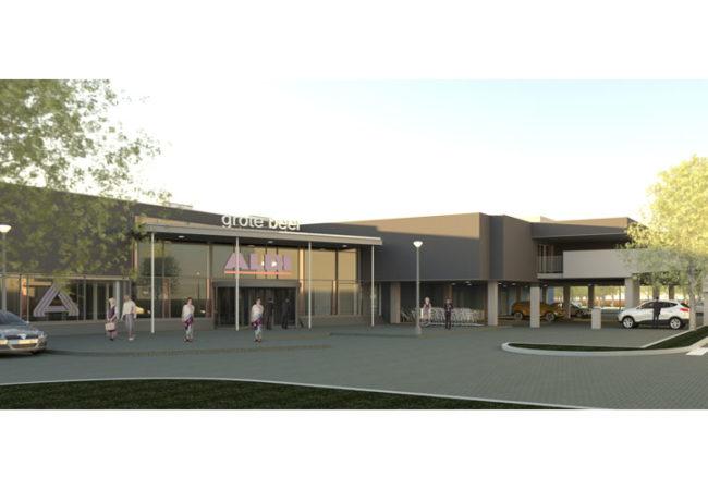 Verbouwing Winkelcentrum Grote Beer